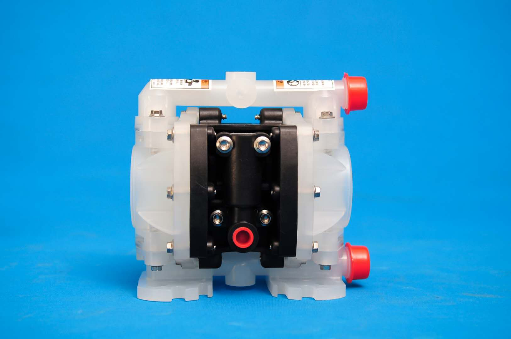 1/4寸塑料PP气动隔膜泵